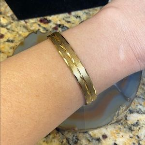 """Pastelli RGP Golden hinge Vintage bracelet 6.75"""""""